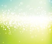 Spring fresh glitter background