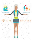 Concept of work and life balance
