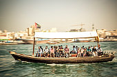 Transportation on the Dubaï Creek. United arab Émirates