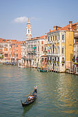 View of the Grand Canal , Venice, Italy