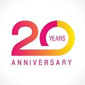 anniversary 20 classic logo.