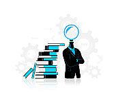 Thinking progress, searching for idea
