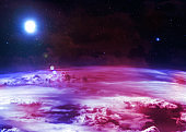 Atmosphere - Elements of this Image Furnished by NASA
