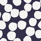 Big polka dots pattern.