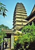 Xi'an, Little Goose Pagoda, Side Gate