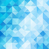 Blue White Bright Mosaic Background, Creative Design Templates
