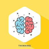 Thinking Outline Icon