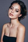Portrait of a beautiful sensual girl