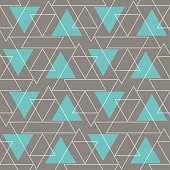 Abstract Background Geometric Seamless Pattern