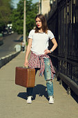 Beautiful traveller