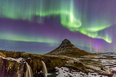 Northern Light Aurora borealis