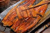 Baked eel