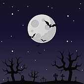 Moon illustration.