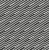 Vector illustration of seamless geometric pattern