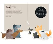 Animal banner with Dog for web design 1