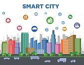 smart city concept illustration