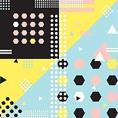 Pop art pattern or background template