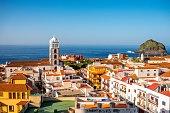 Garachico town cityscape view