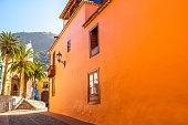 Spanish old town on the Tenerife island