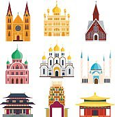 Cathedrals and churches temple building