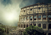 Roman Coliseum - One of popular travel place in world.
