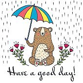 Have a good day greeting card