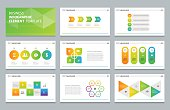 business info graphic presentation element template