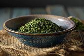 Dry Organic Green Parsley Flakes