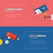 Surveillance Graphic Elements