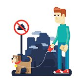 rules dog walking in the big city