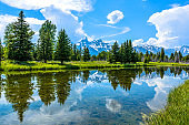 Snake River at Teton Range