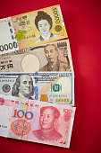 Variety countries currency