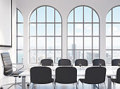 Meeting room, negotiations