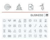 Business and management vector icons