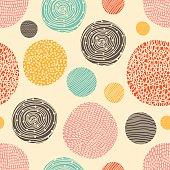 Decorative polka dot.