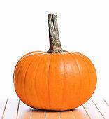 Fresh pumpkin for Halloween