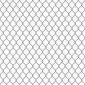 Seamless chain link fence.