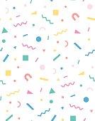 Holiday geometric pattern