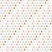 Geometric color abstract seamless pattern with triangle. Wrapping. Print. Background.