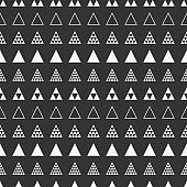 Geometric line abstract seamless pattern with triangle. Wrapping paper. Background