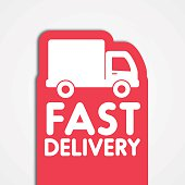Fast  delivery label