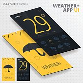 Vector Weather App