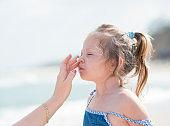 Kids sun protection.