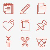 documents and  web icons