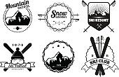Ski Resort Emblems
