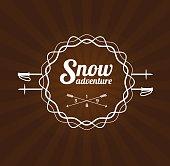 Ski Resort Logo