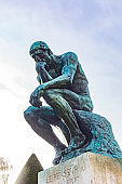 August Rodin's Famous Sculpture The Thinker