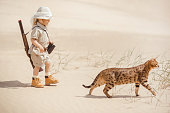 Big advantures in desert