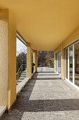 porch of a modern building