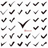 Check Marks or Ticks